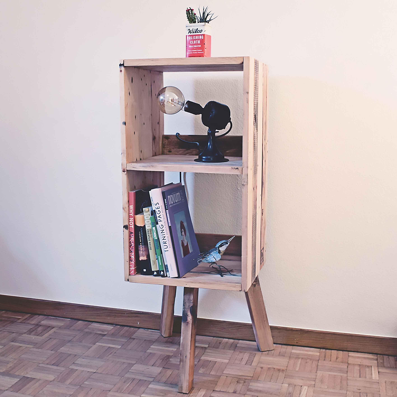 altholz regal timberstand. Black Bedroom Furniture Sets. Home Design Ideas